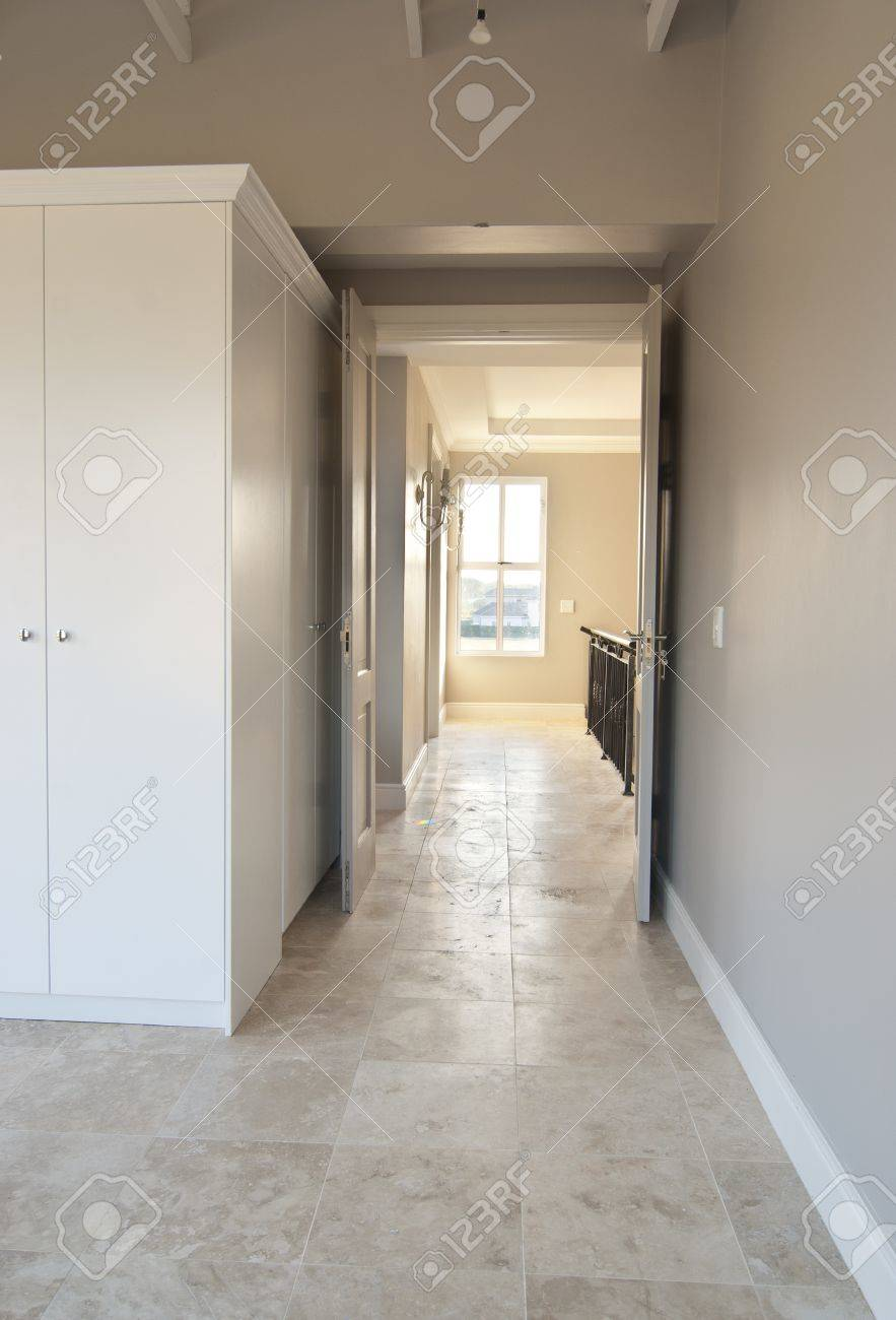 Empty Bedroom Inside A Modern House Stock Photo Picture And Royalty Free Image Image 10715540
