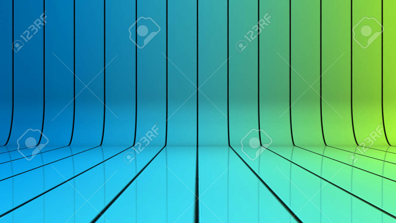 Glossy Background With Lines That Curve Upward Stock Photo ...