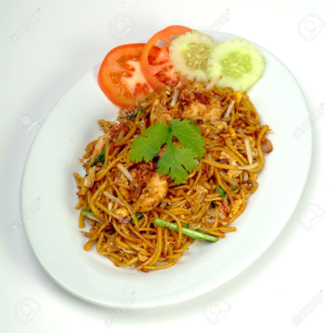 mamak fried noodle - malaysian food Stock Photo - 9267570