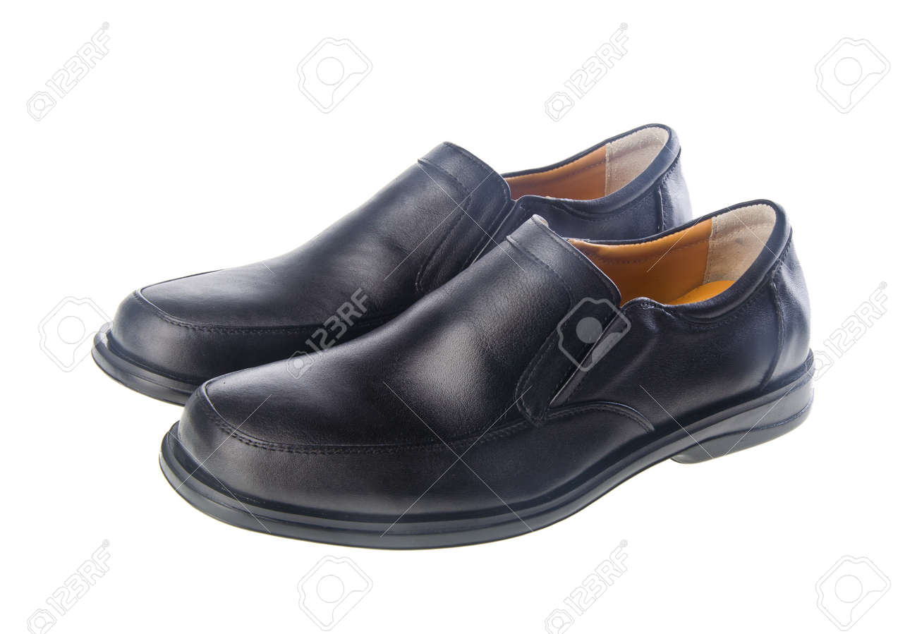 shoes, man shoes on the background Stock Photo - 14551104