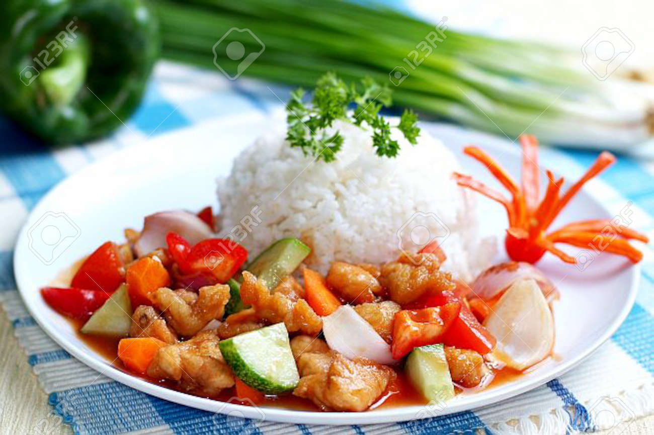 asia food and rice malaysia Stock Photo - 14912522