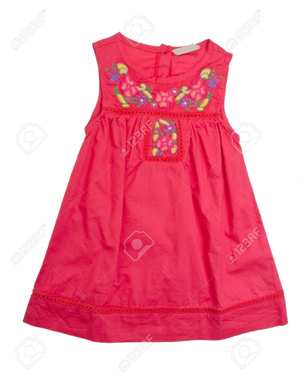 kids blouse and skirt on background Stock Photo - 18289754
