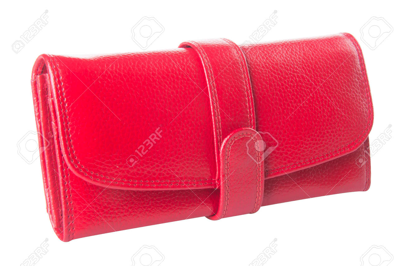 wallet. woman wallet on background Stock Photo - 21236805