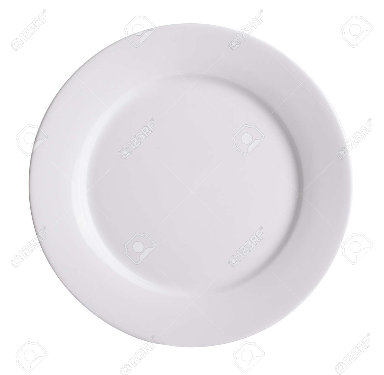 ceramic plate on white background Stock Photo - 37373250  sc 1 st  123RF.com & Ceramic Plate On White Background Stock Photo Picture And Royalty ...