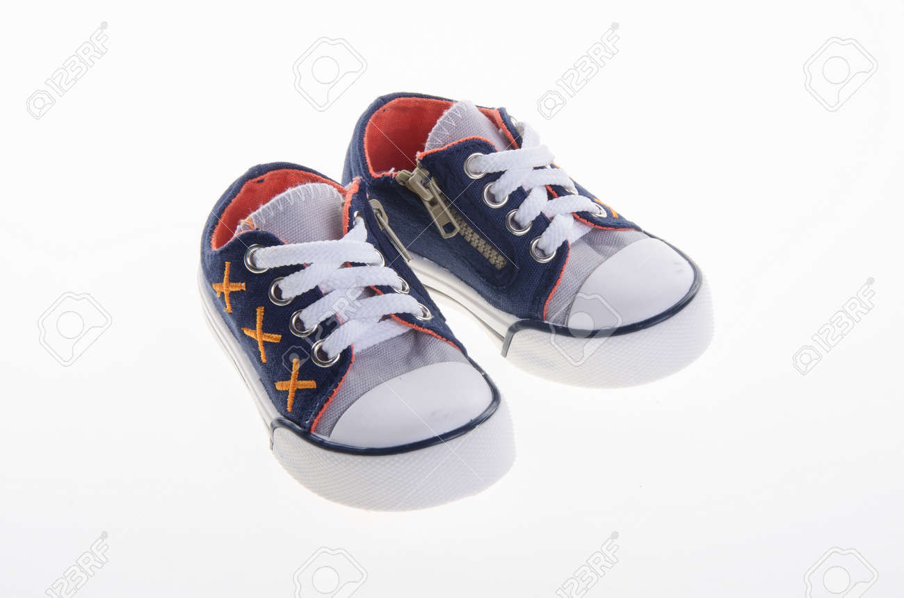 037698be8 shoe or beautiful little boy shoes on a white background Stock Photo -  43295008