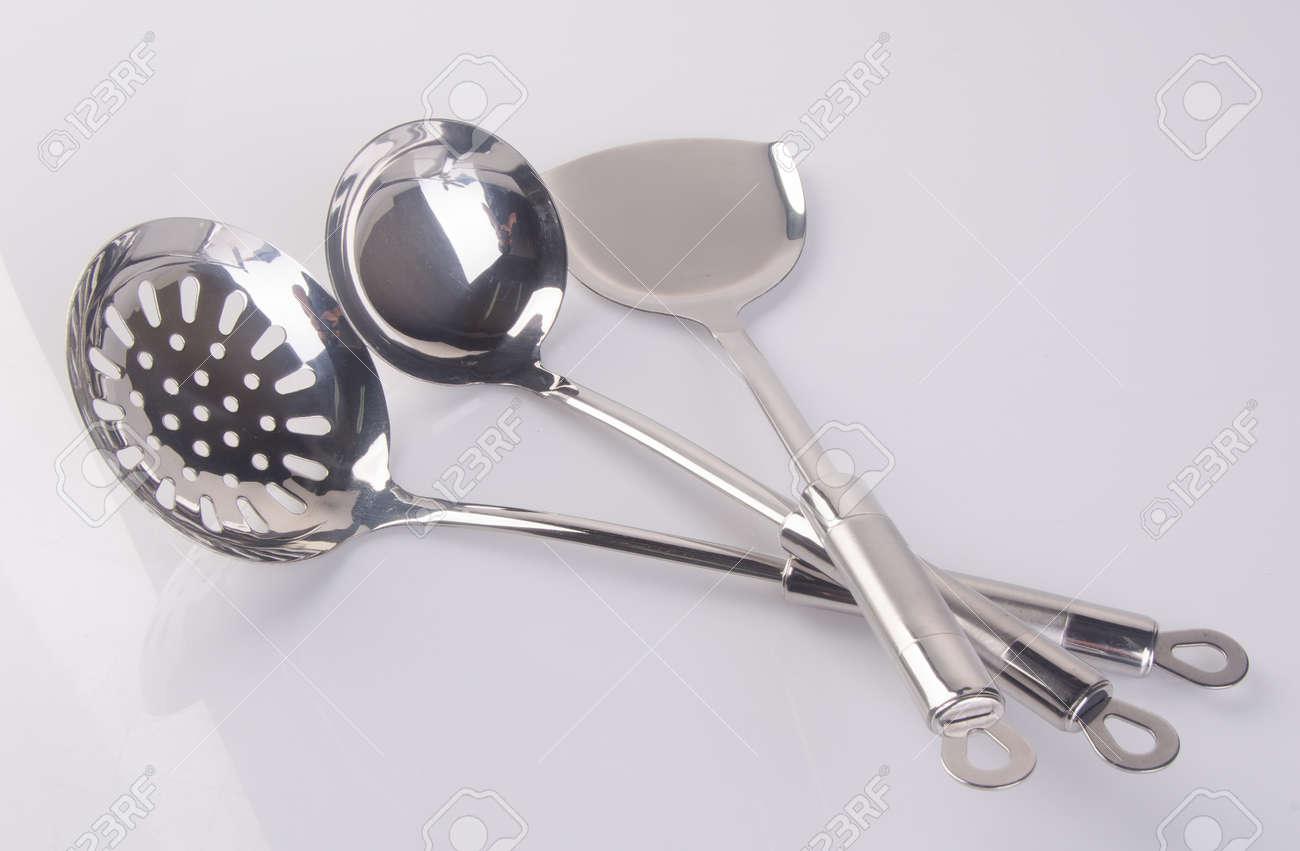 Kitchen Utensils Or High Quality Kitchen Utensils On Background ...