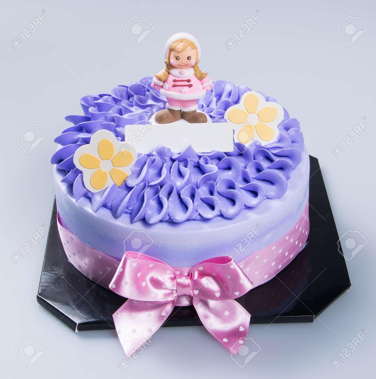 Pastel Torta Feliz Del Día De La Madre En Un Fondo