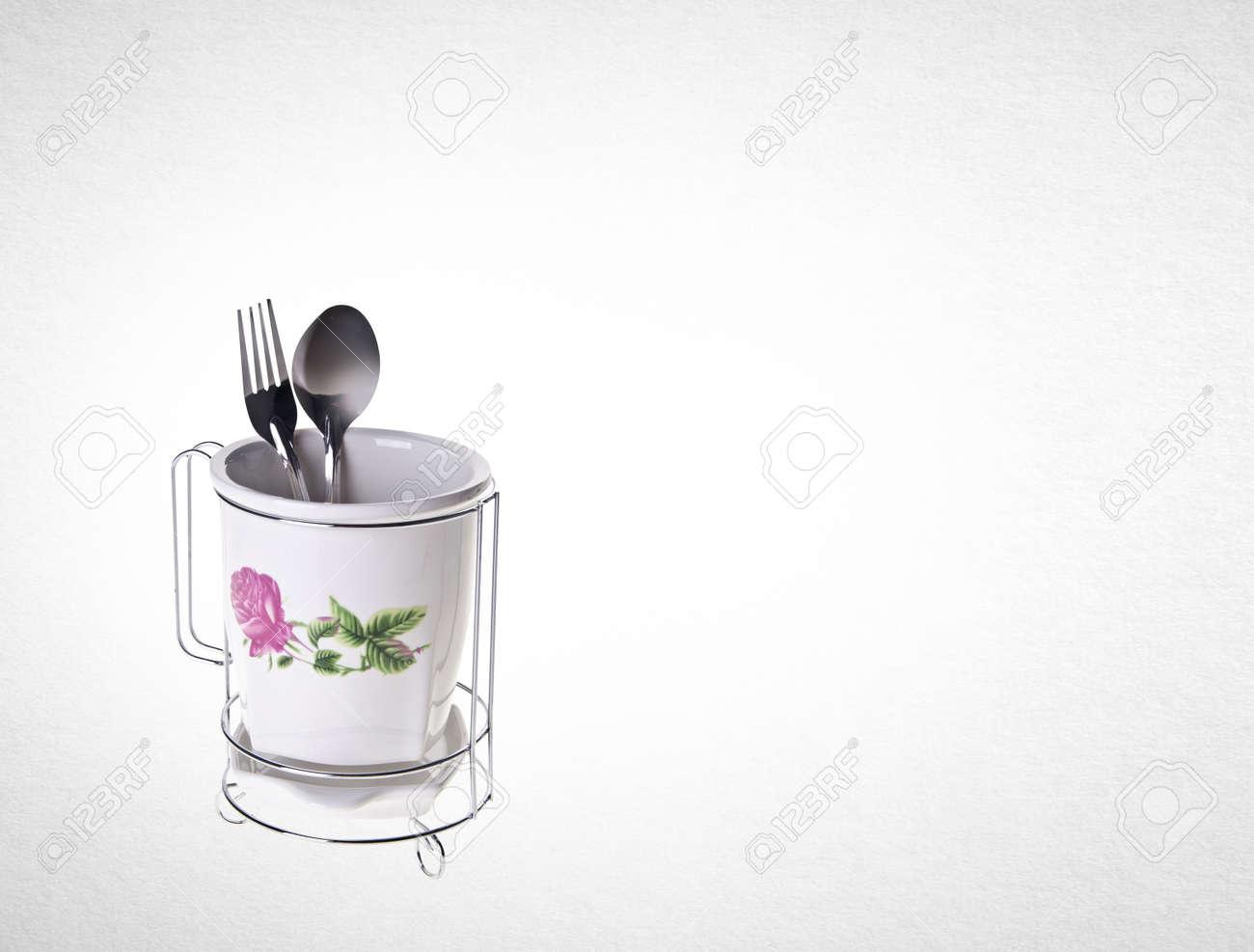 Utensili da cucina o utensili da cucina di alta qualità sullo sfondo