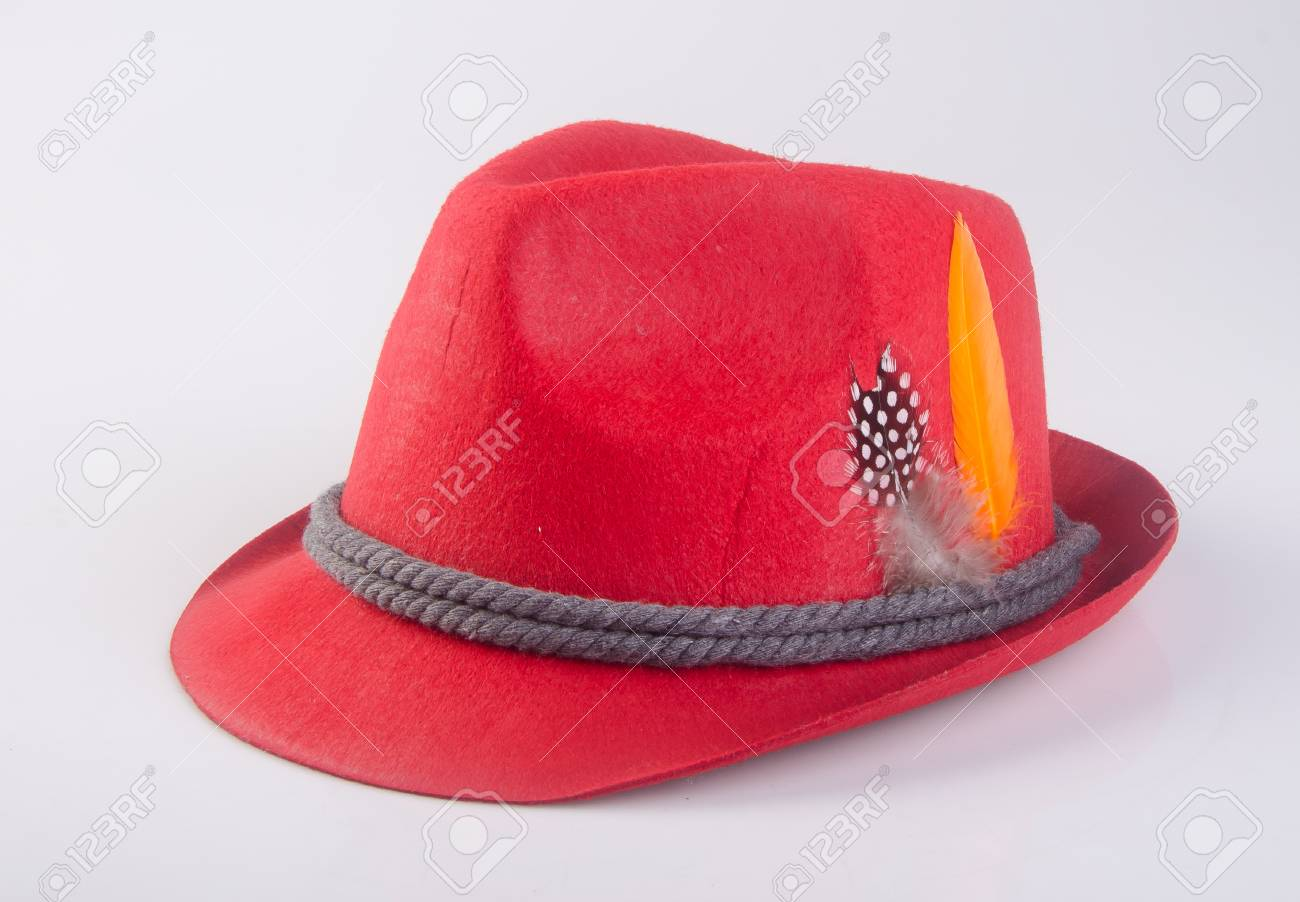 9f57c86a7dc hat or oktoberfest bavarian hat on a background Stock Photo - 90536744