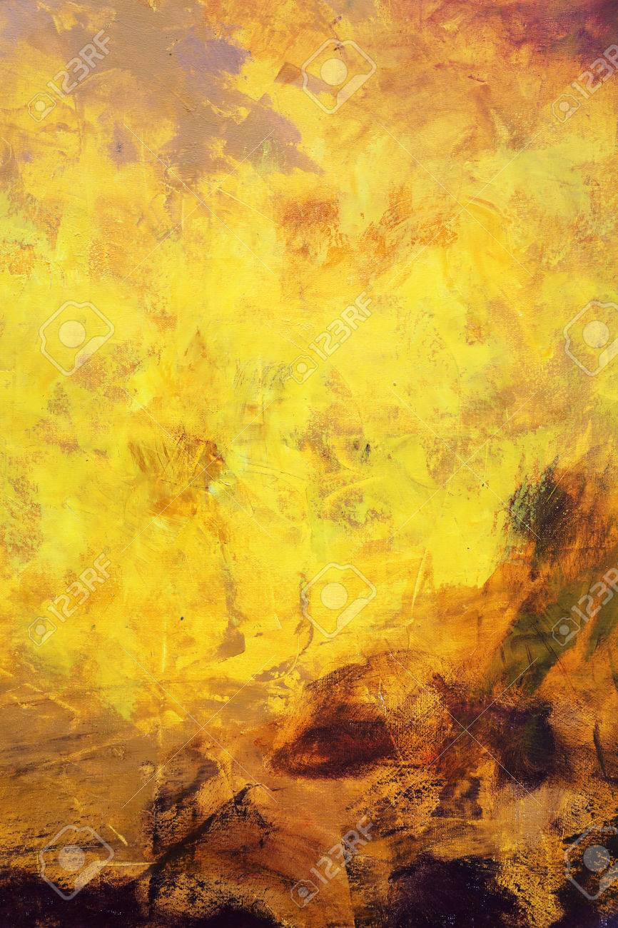 Oil Painting Texture Background Stock Photo Picture And Royalty
