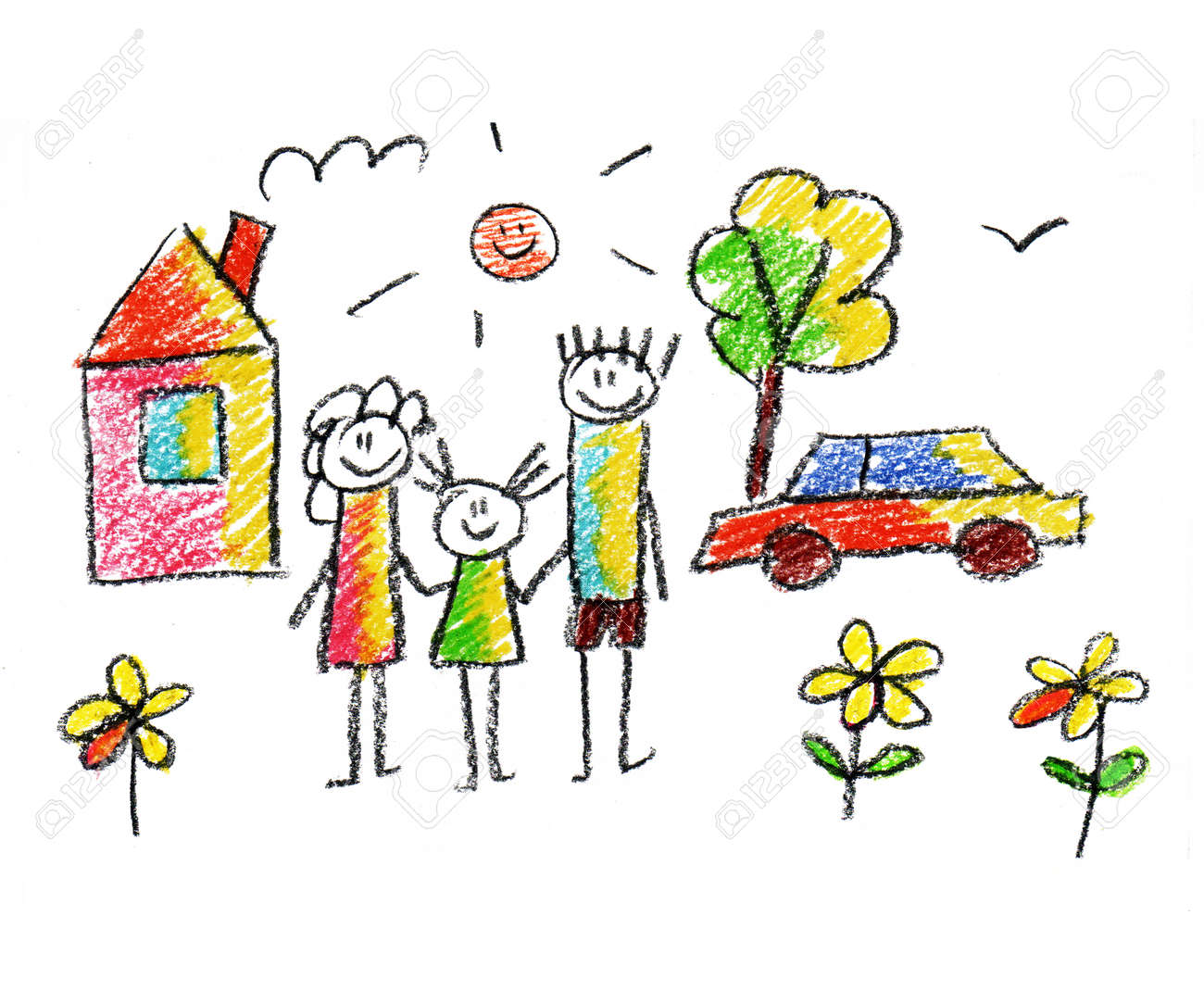 Image result for happy parents drawing