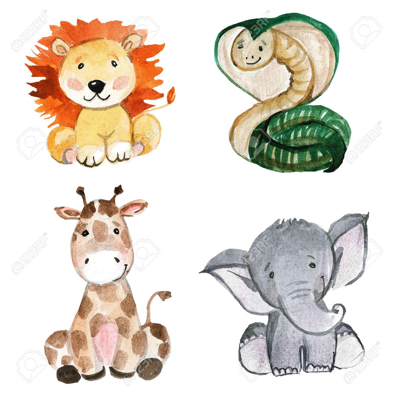 Cute Animals for kindergarten, nursery, children clothing, pattern for kindergarten, nursery, children clothing, kids pattern, invitation baby shower - 67279864