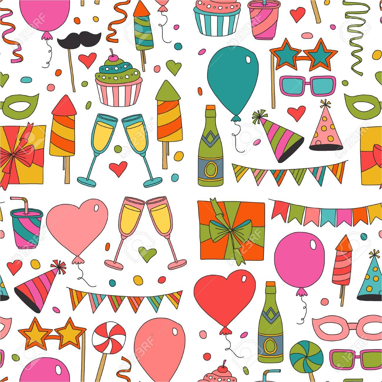 Plantilla De La Tarjeta De Feliz Cumpleaños Niños Que Dibujan Partido De Los Niños Invitación Del Cumpleaños De La Fiesta De Bodas