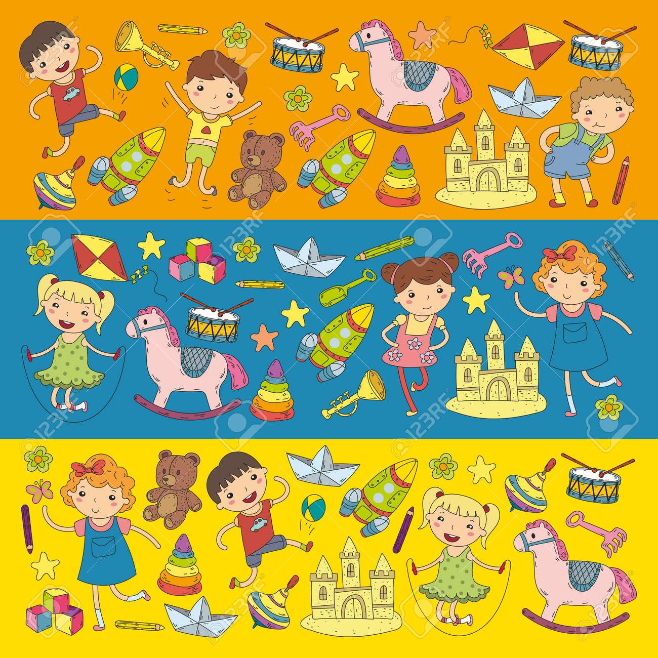 Kindergarten Nursery Preschool School Education With Children ...