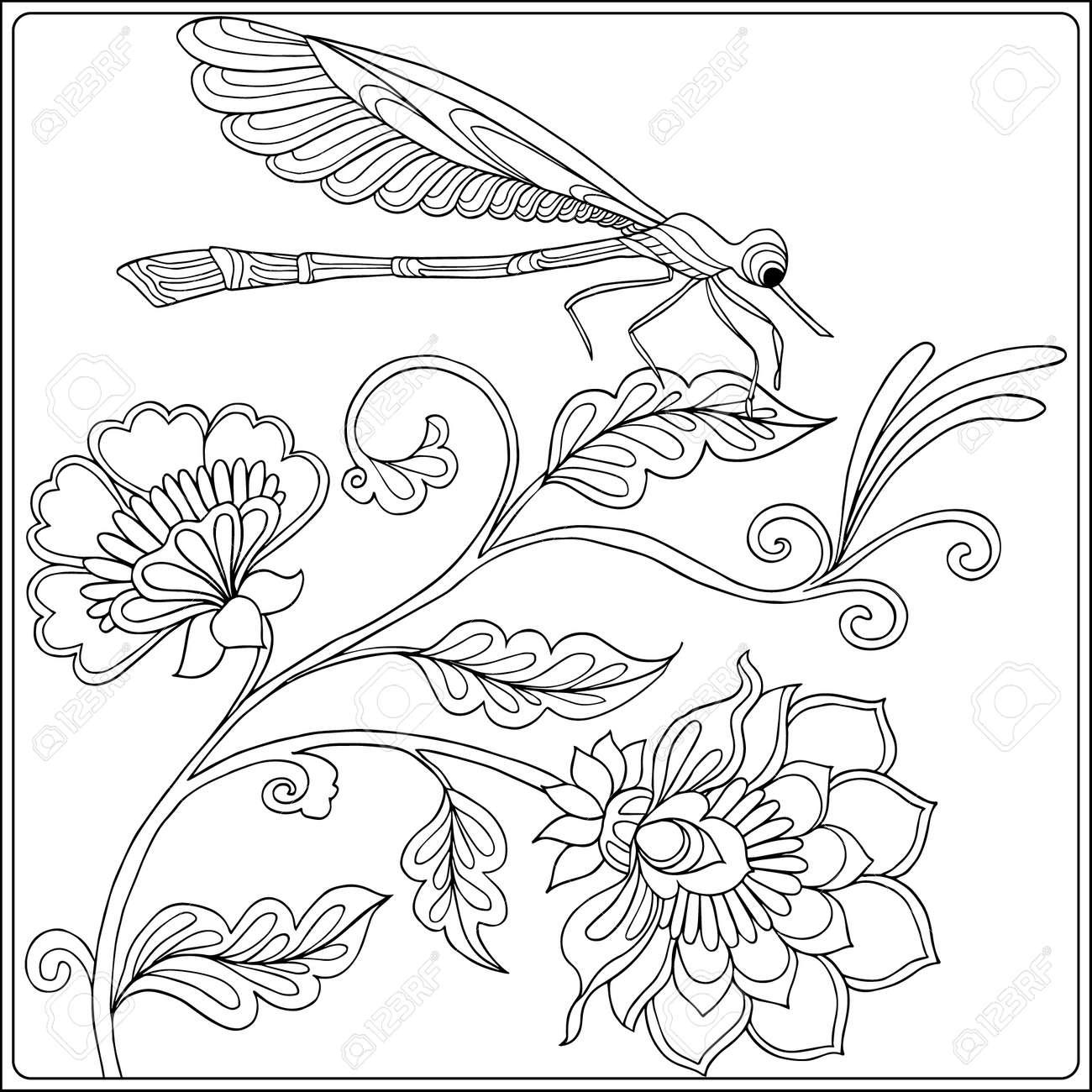 Único Pájaros Y Mariposas Para Colorear Colección de Imágenes ...