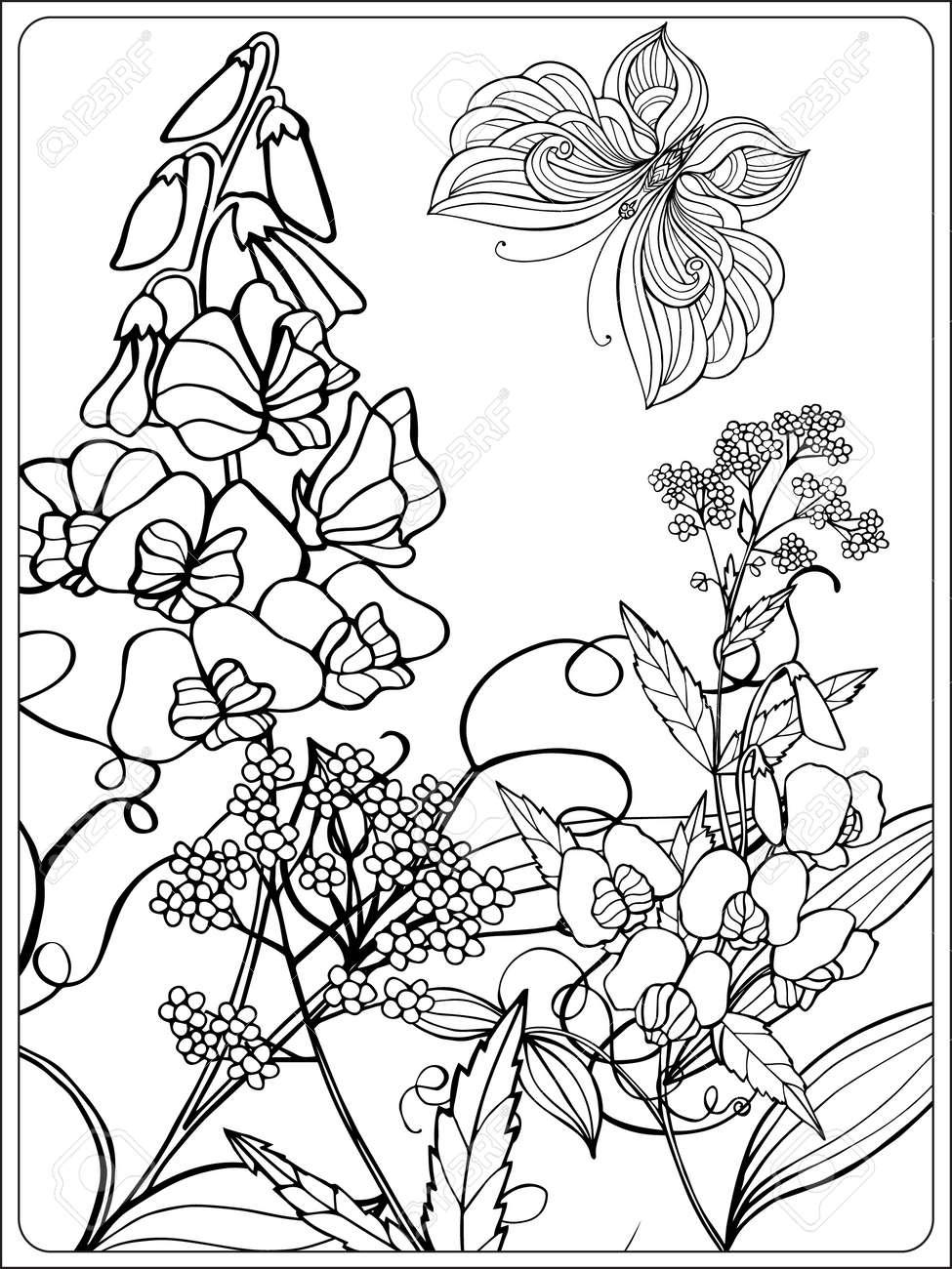 Gem Tlich Malvorlagen Blumen Und V Gel Galerie Malvorlagen Von