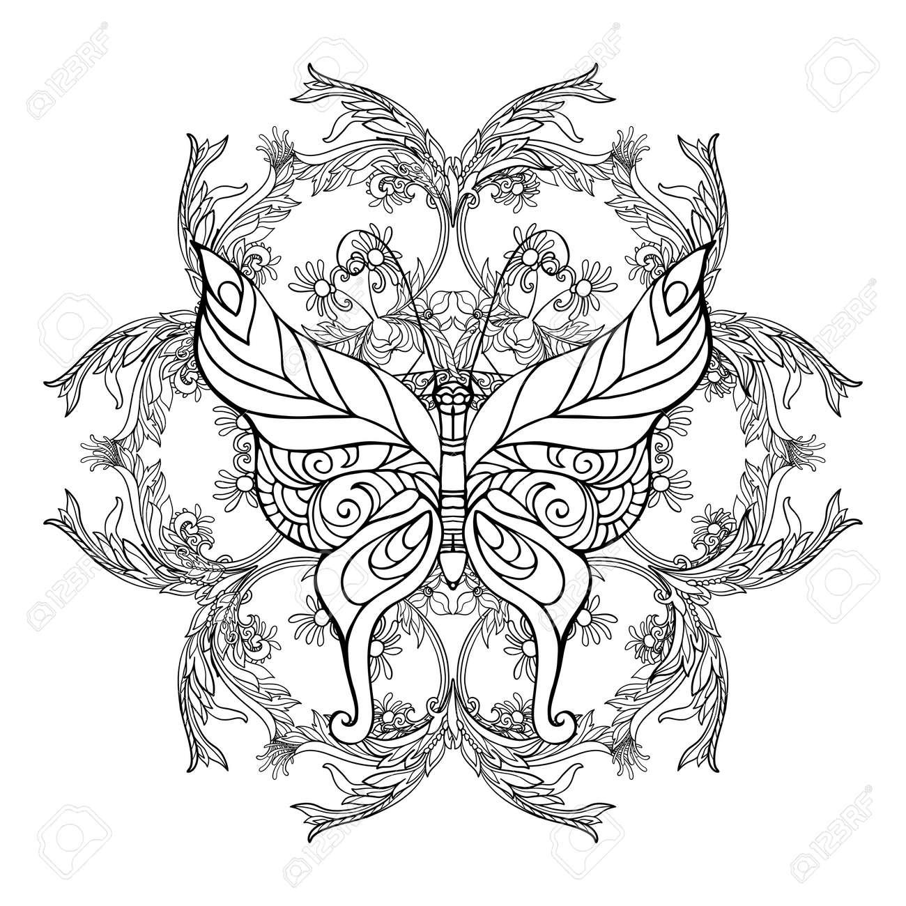 Increíble Mariposas Para Colorear Para Preescolar Inspiración ...