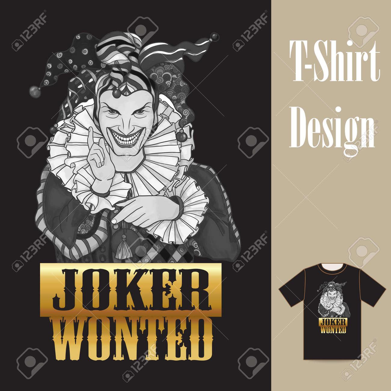 Joker Men In Joker Costume This Illustration Can Be Used As