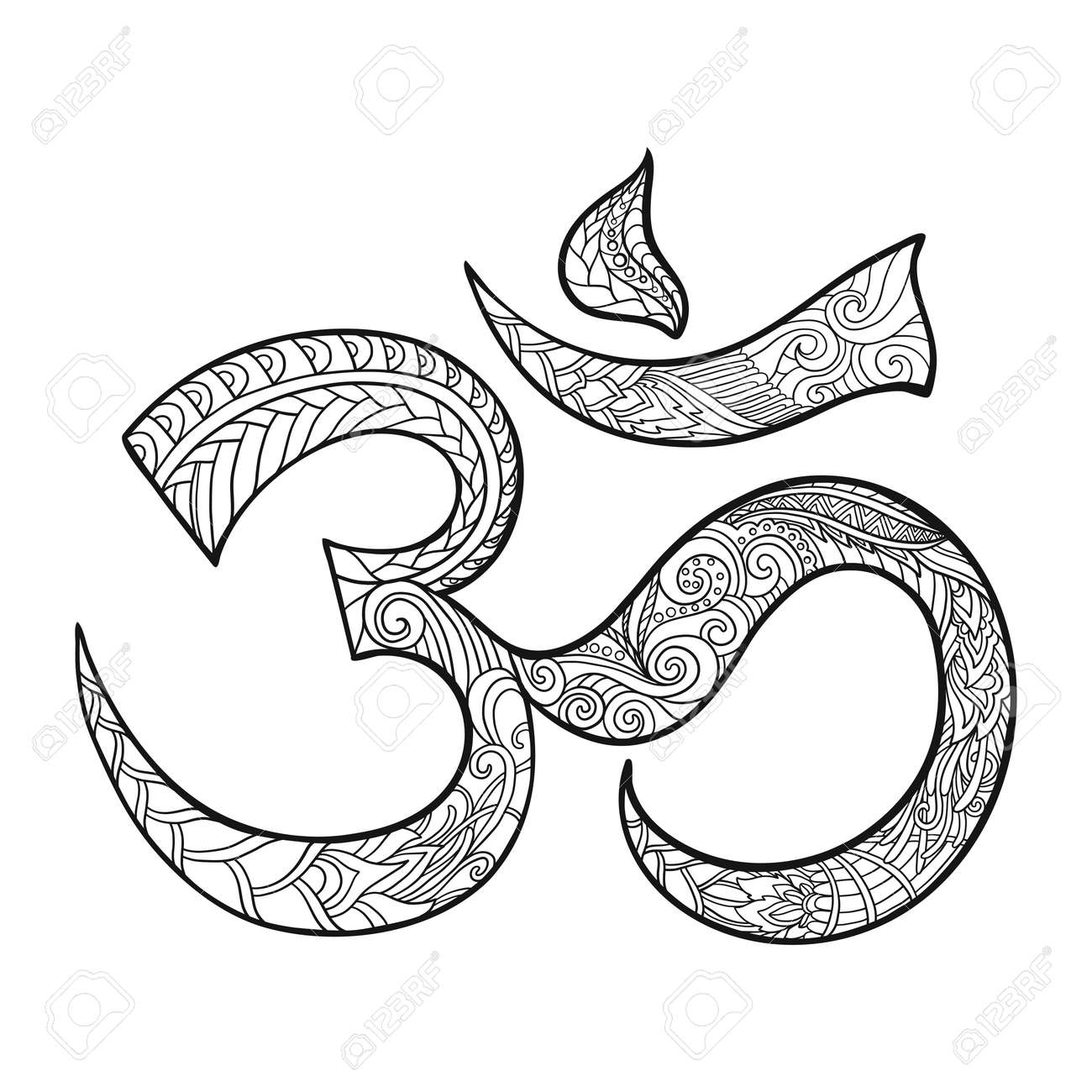 Om drawing 100 images show om nom stories how to draw mobibase om drawing ohm symbol indian diwali spiritual sign om with high details biocorpaavc Choice Image