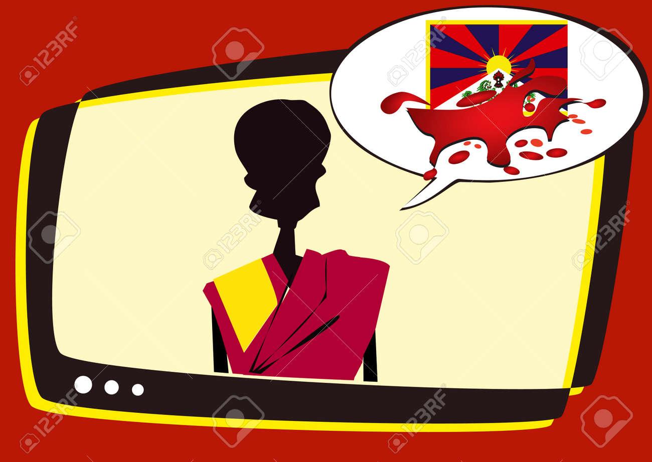 tibet series - information Stock Vector - 2955025