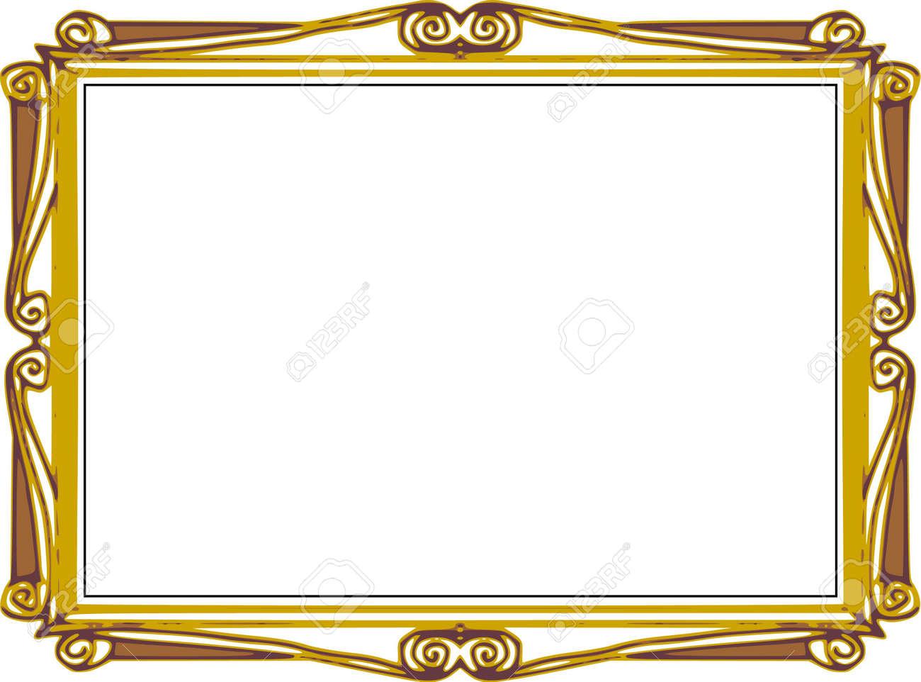 Background Series, Hand Draw Frame, Comics Cartoon Style Stock Photo ...