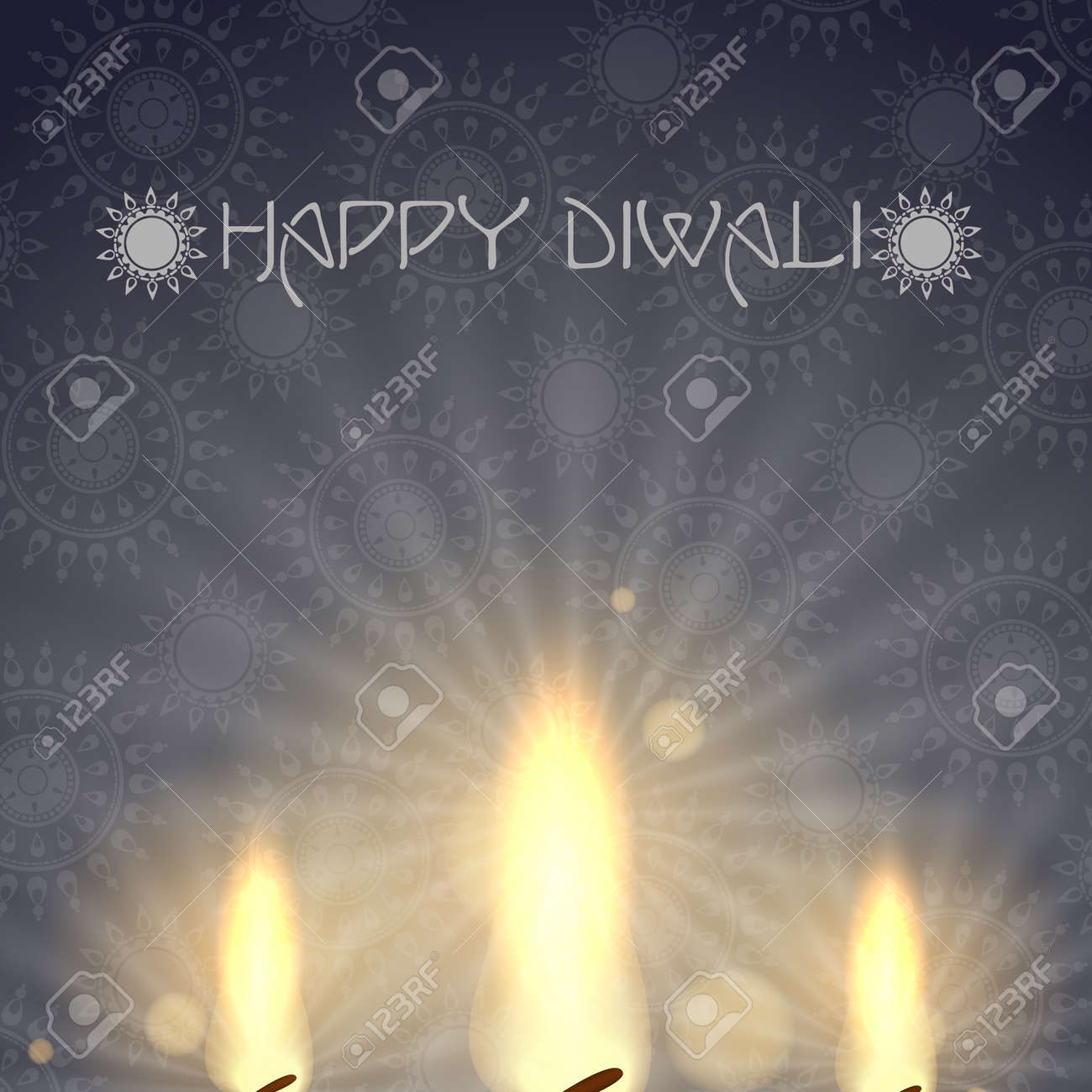 Happy diwali Stock Vector - 20814185