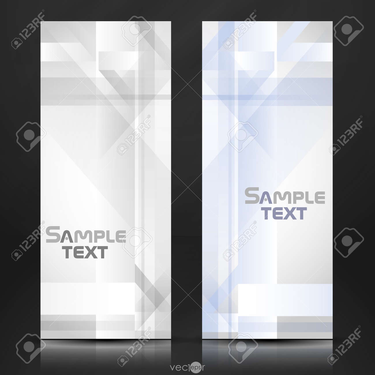 Abstract geometric banner   Vector illustration Stock Vector - 20992621