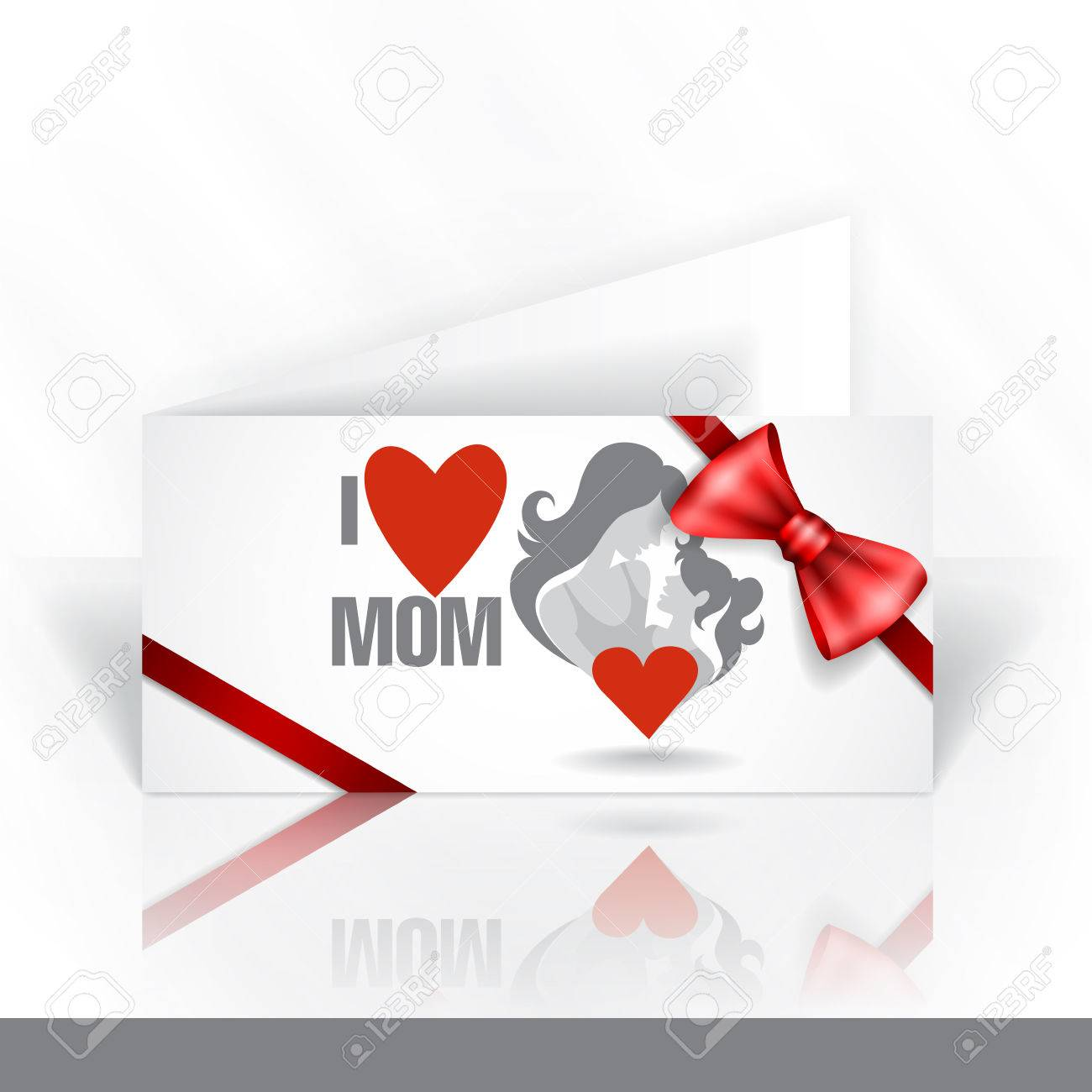 Invitation card design template happy mothers day foto royalty invitation card design template happy mothers day banco de imagens 27723514 stopboris Choice Image