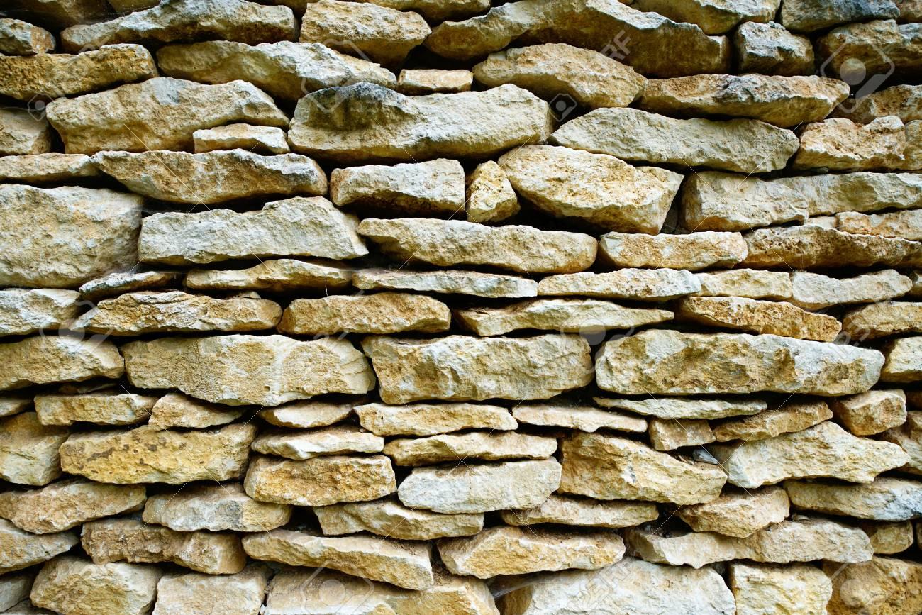 Muro Fatto In Pietra questo è un muro perfetto fatto di pietre naturali.