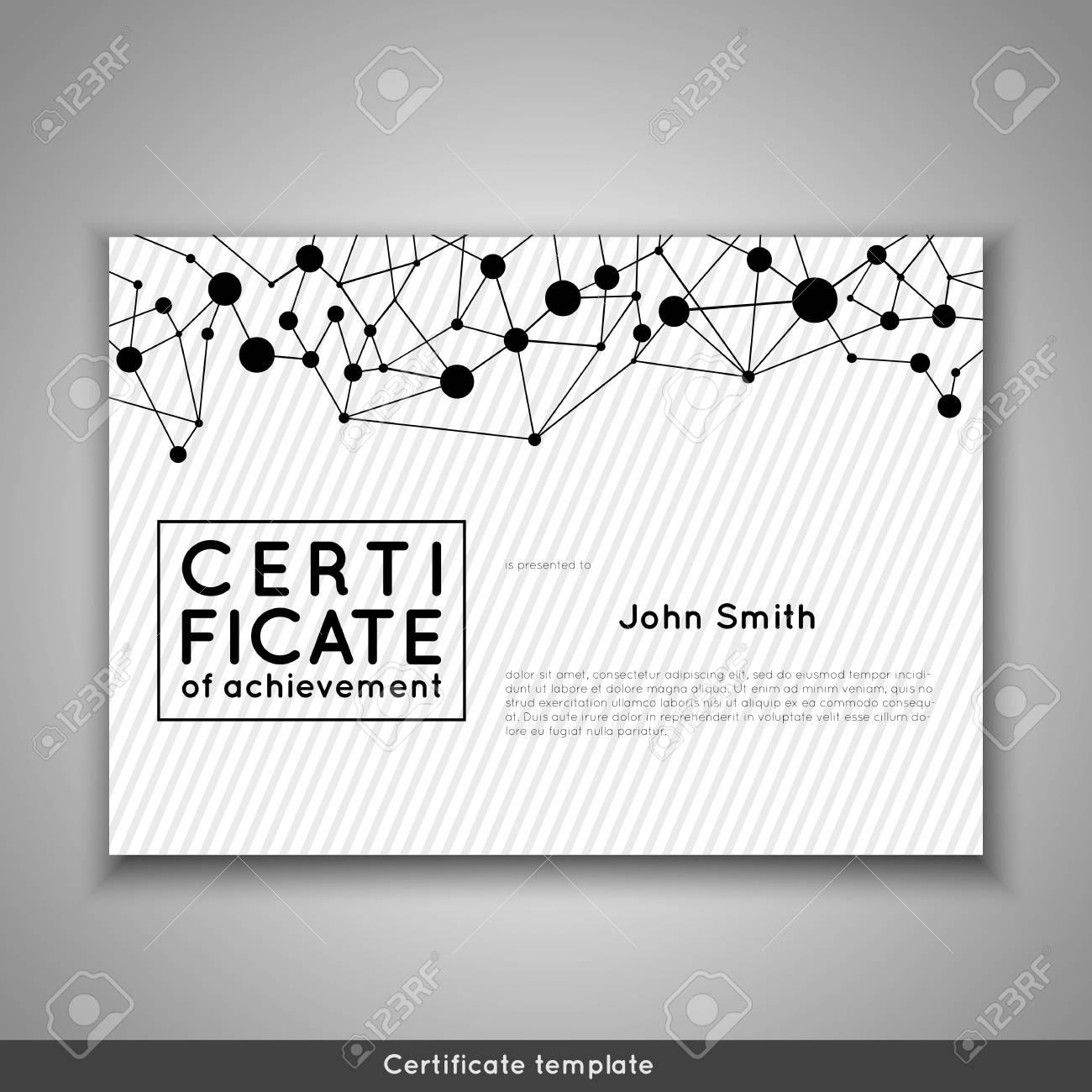 Certificado De Finalización De Reconocimiento, Logro, Graduación ...