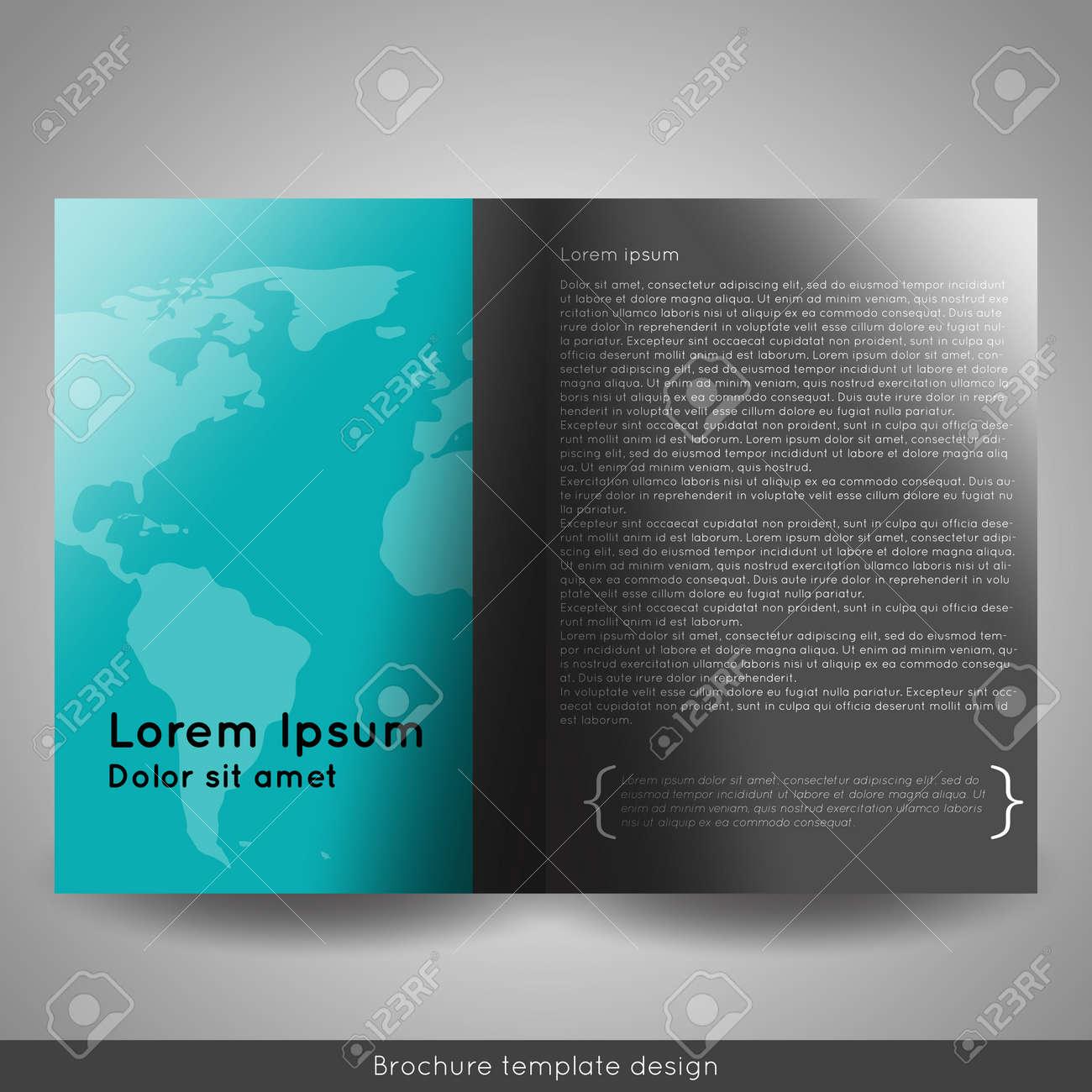 corporate bi fold brochure template.html