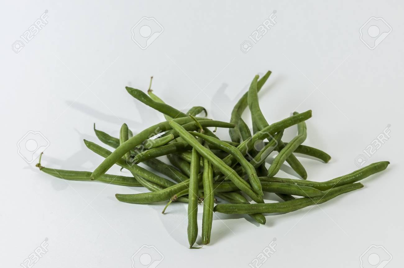 green string bean healthy veggie Stock Photo - 16857298