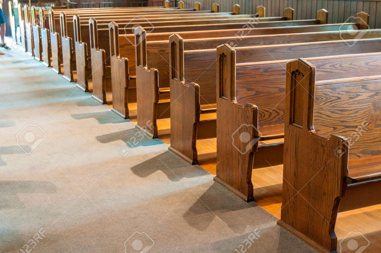 Phenomenal A Row Of Antique Wooden Church Pews Caraccident5 Cool Chair Designs And Ideas Caraccident5Info