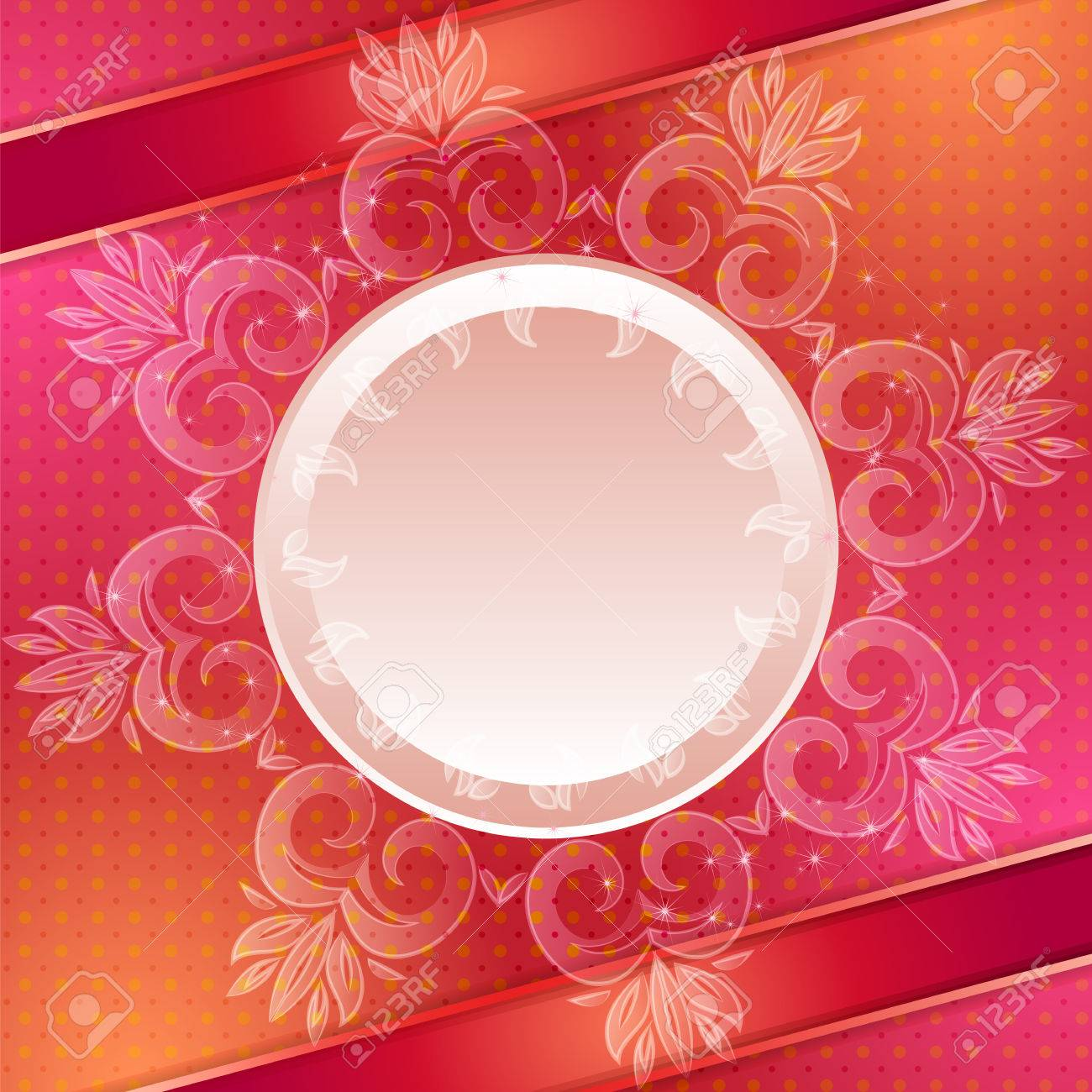 Red Abstract Background. Can Be Used For Banner, Invitation ...