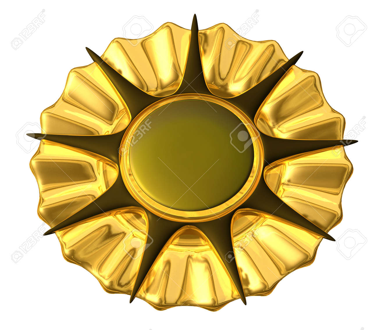 Medal Gold Stock Photo - 3665309