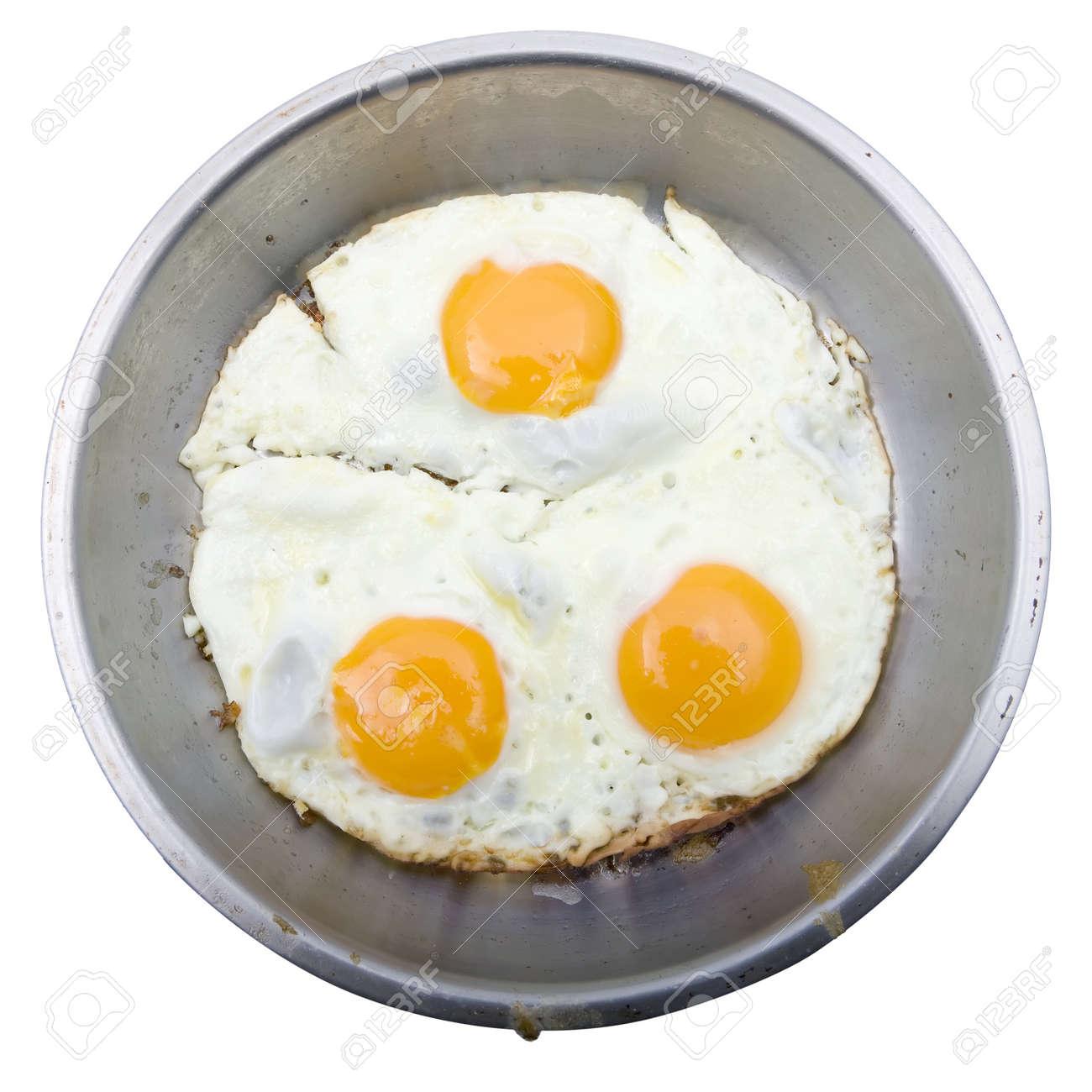 Egg Fried - Isolated Stock Photo - 4106008
