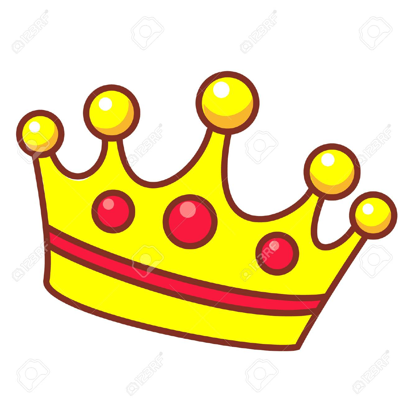 cartoon crown royalty free cliparts vectors and stock illustration rh 123rf com cartoon crown transparent background cartoon crown images