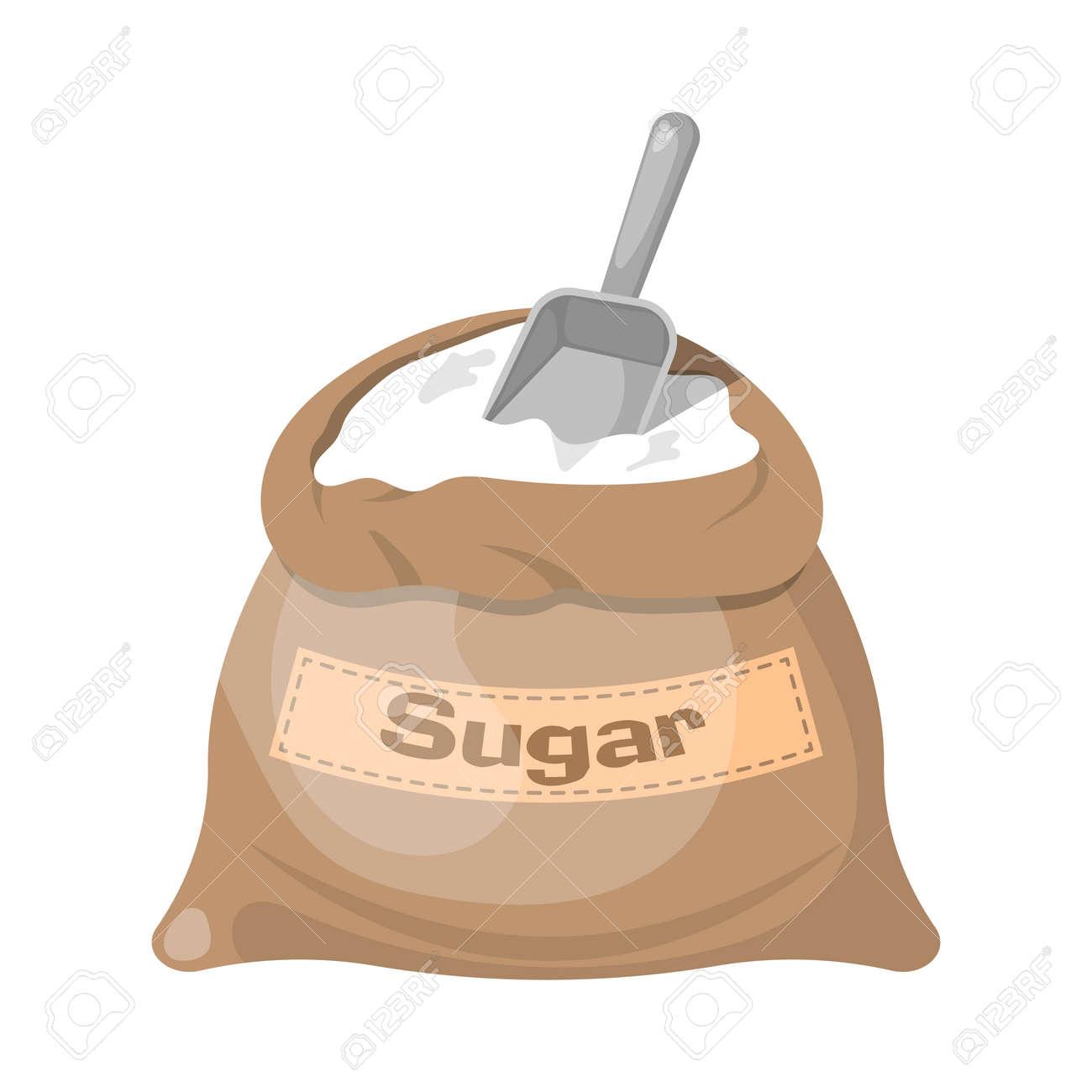 Sugar bag icon, Sugar bag icon eps 10, Sugar bag icon vector, Sugar bag icon jpg. Vector illustration - 58343122
