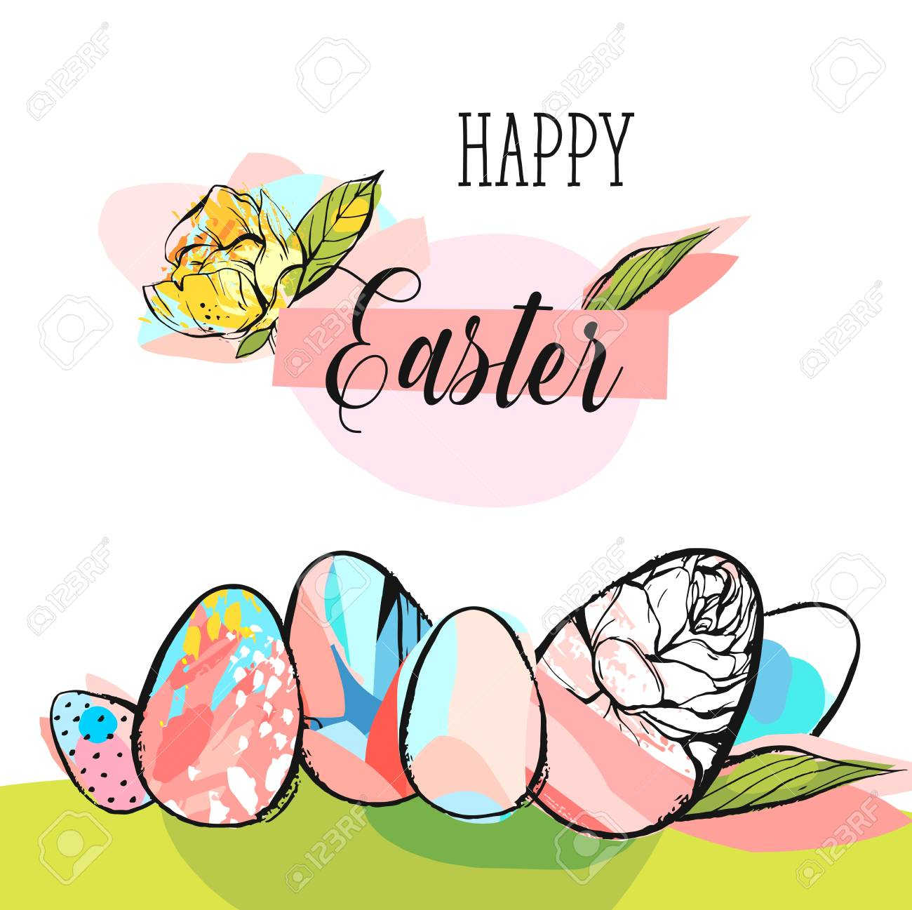 Easter Greetings Clipart Awesome Graphic Library