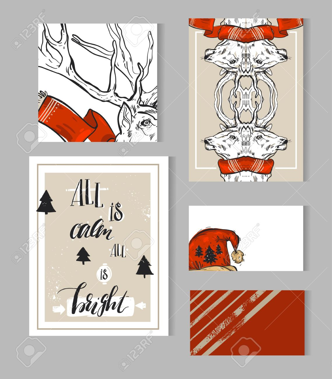 christmas note template