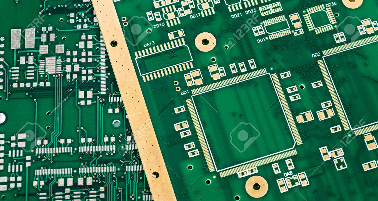 Computer Circuit Board Royalty Free Stock Photography Image