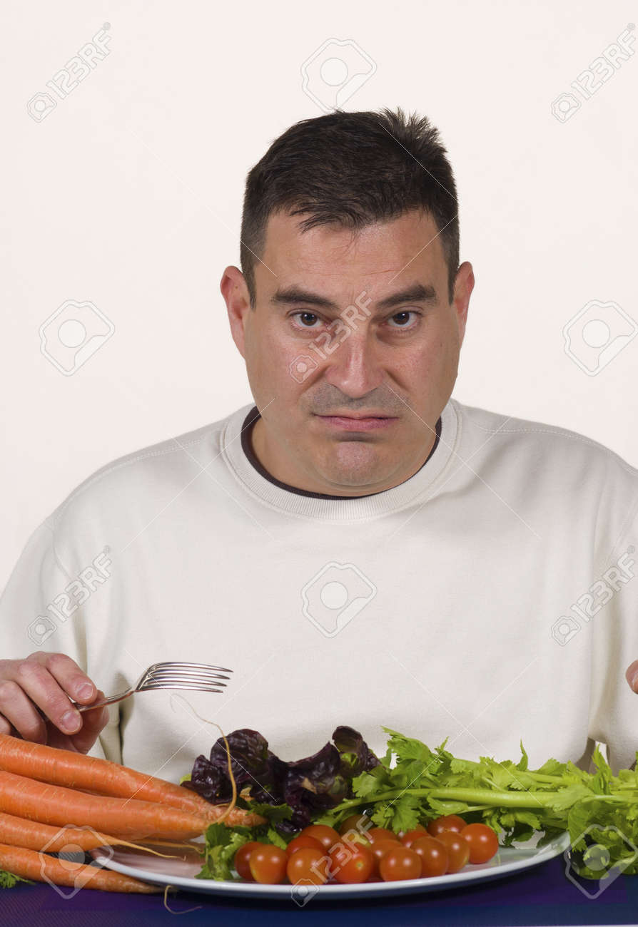vEgetables and more vegetables, growing fed up Stock Photo - 12625418