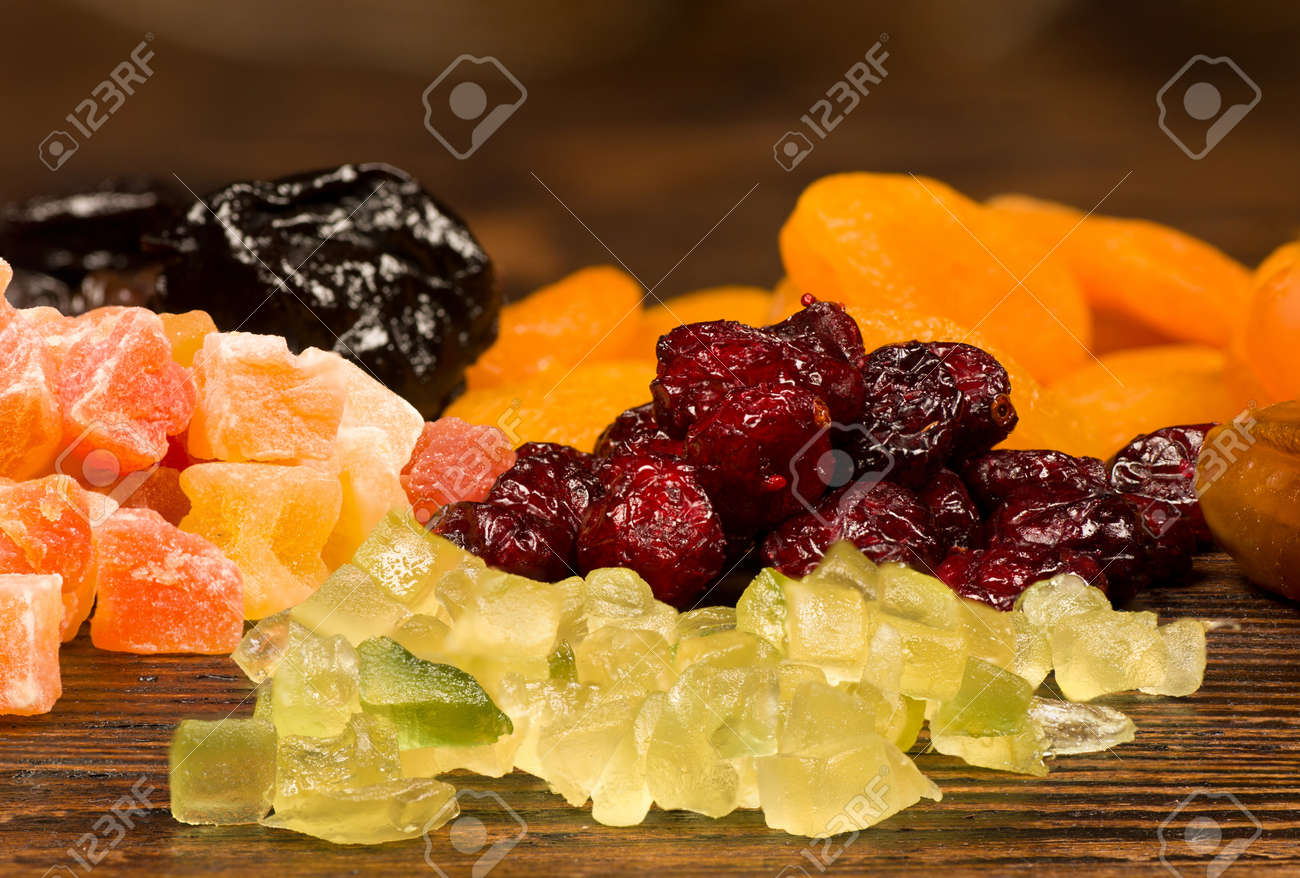 Assorted Dried Fruit A Classic Christmas Baking Mix