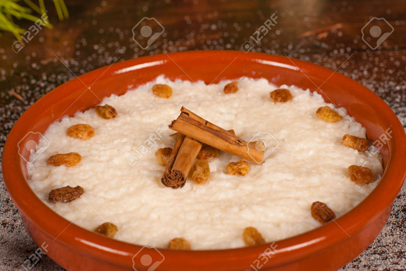 Puerto Rican Christmas Dessert, A Traditional Treat Stock Photo ...