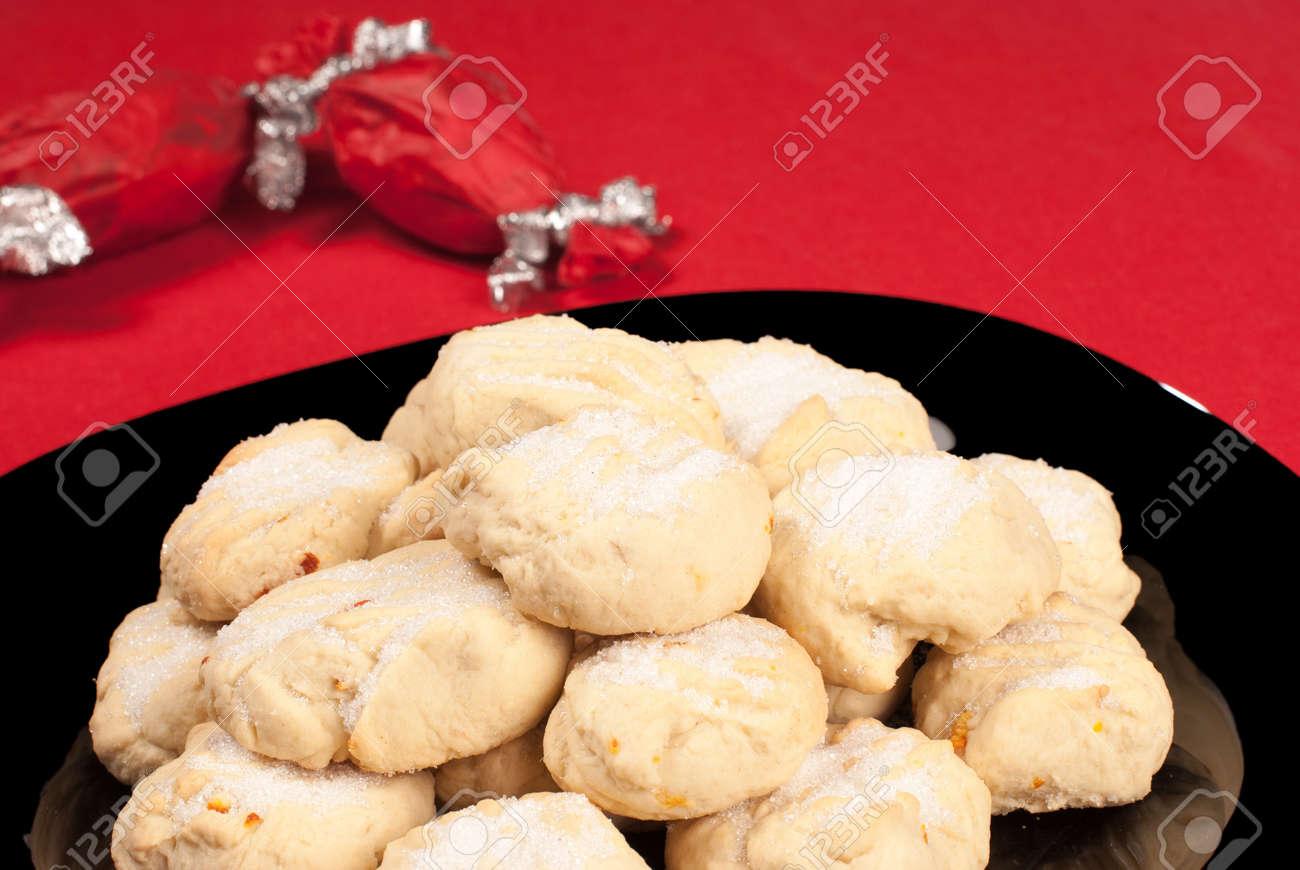Traditional Spanish Polvorones Homemade Christmas Cookies