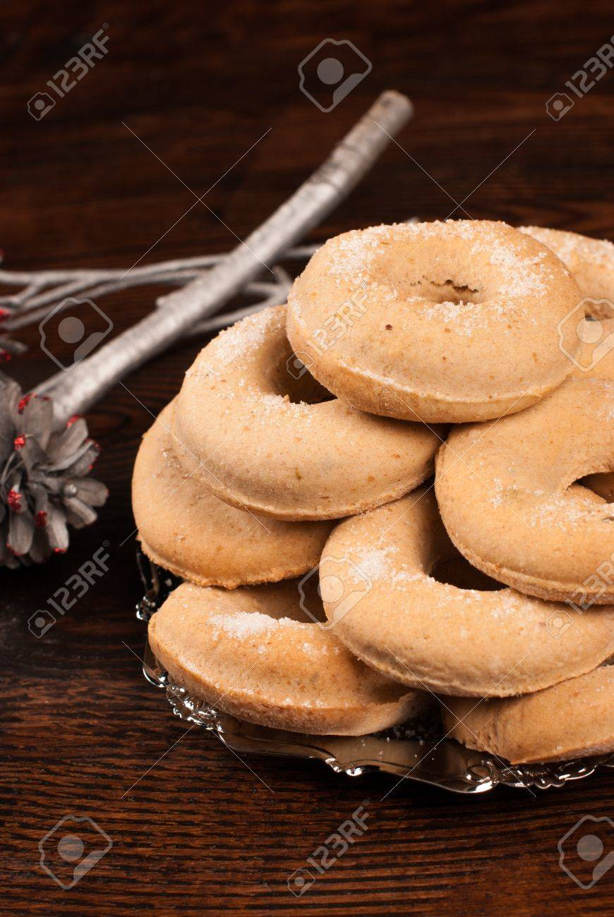 Roscos A Very Traditional Type Of Spanish Christmas Cookies