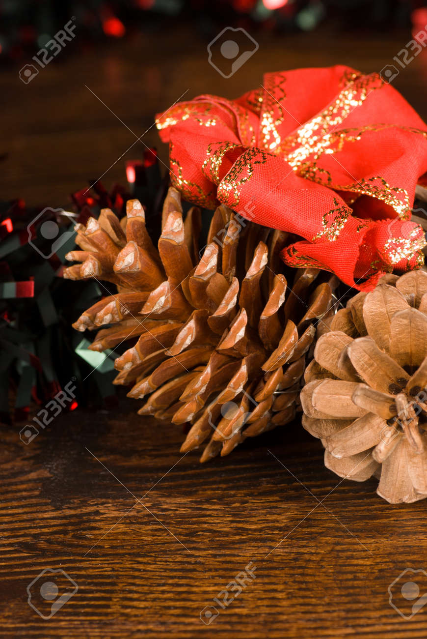 Closeup take of Chrismtas decoration elements Stock Photo - 15882190