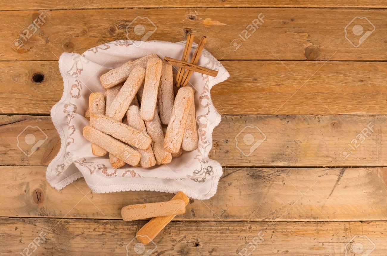 ビスケット フィンガー