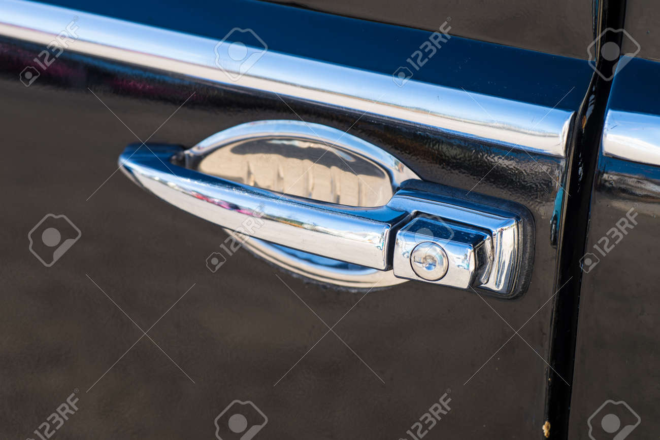 vintage car door handles outside door detail take of vintage car door handle stock photo 94480142 take of vintage car door handle photo picture and