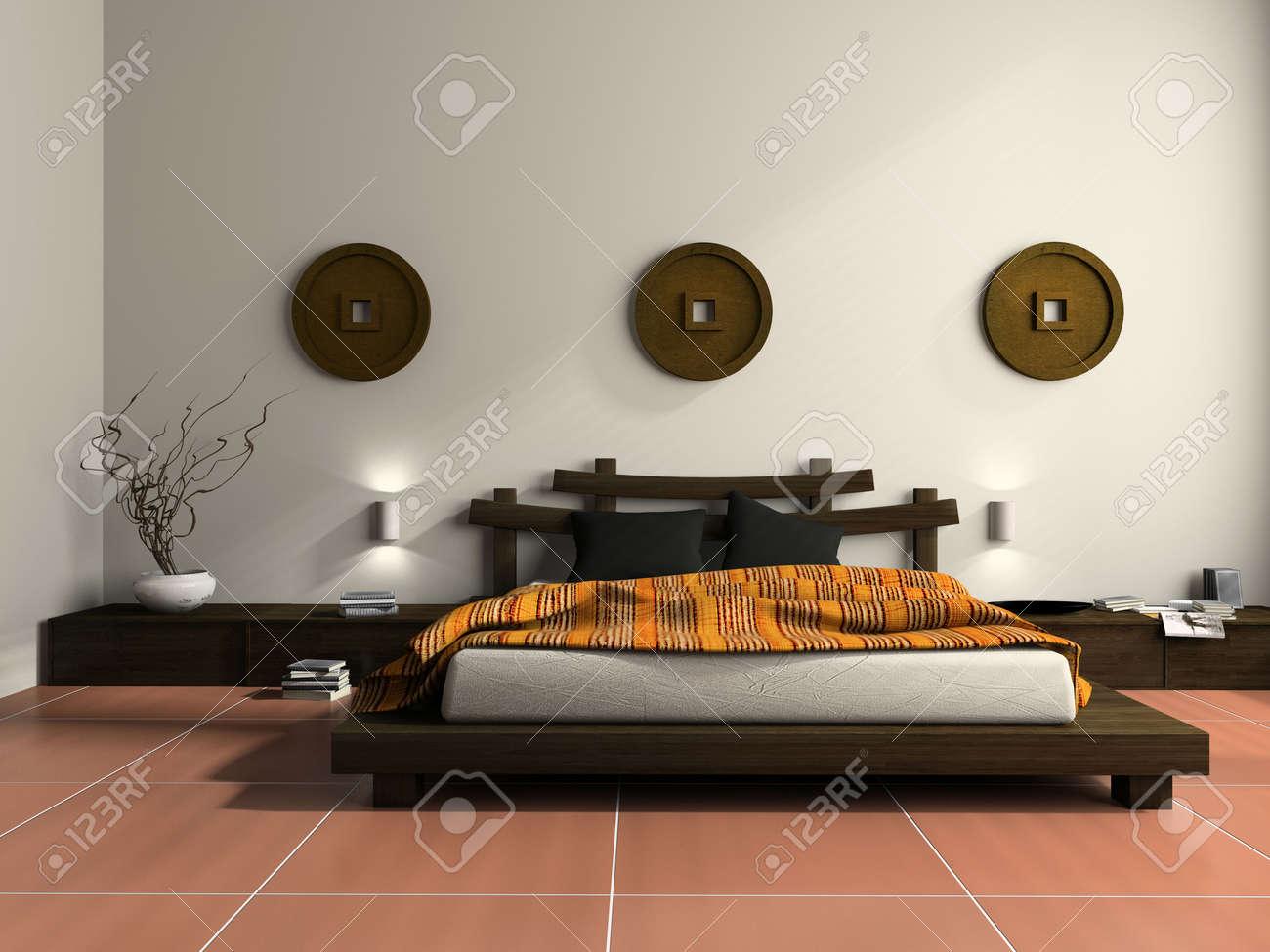 Superbe Chambre Style Ethnique #6: Une Chambre à Coucher De Style ...